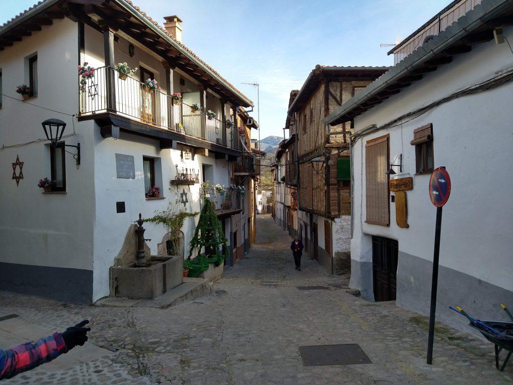 Visita al pueblo de Hervás