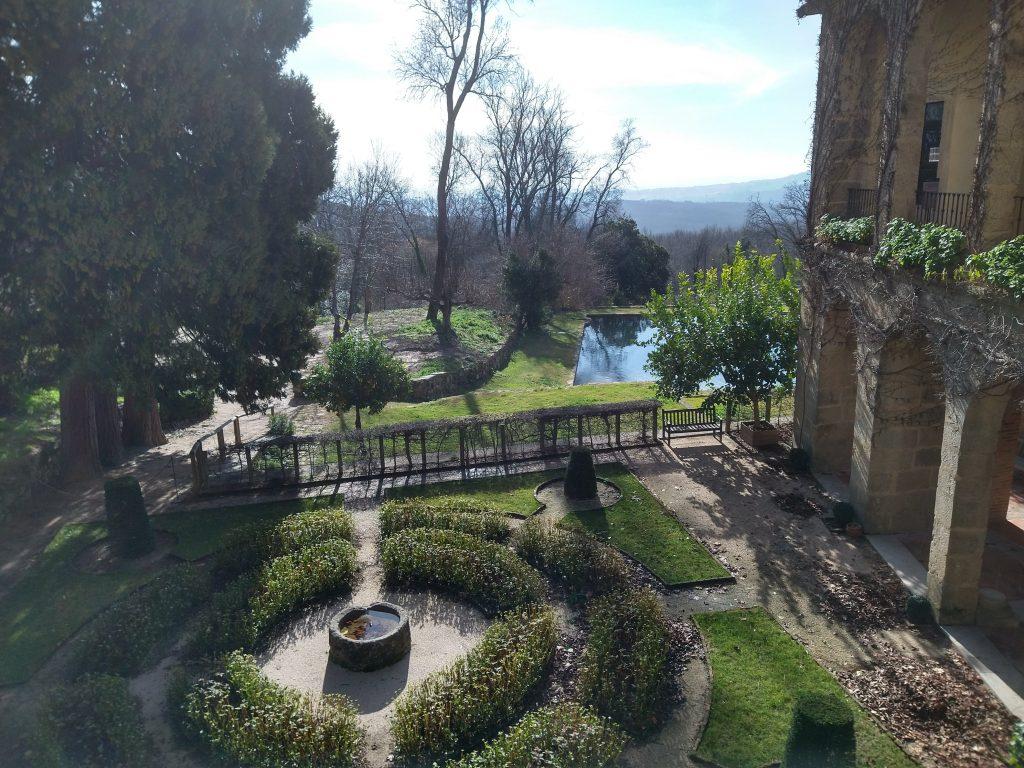 Vista desde el balcón del Monasterio de San Jerónimo de Yuste.