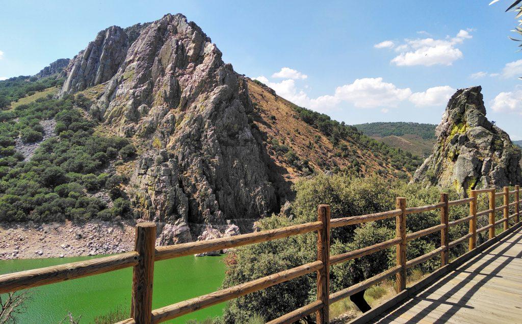Mirador el Salto del Gitano y Río Tajo, Cáceres