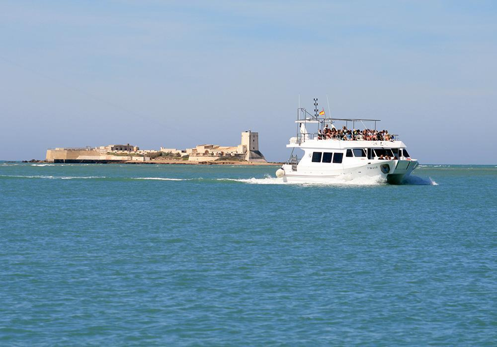 Paseo en barco en Chiclana de la Frontera