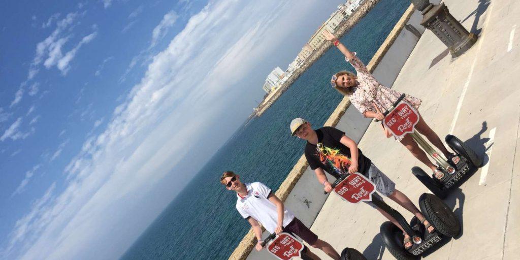 Visita Cádiz en Segway